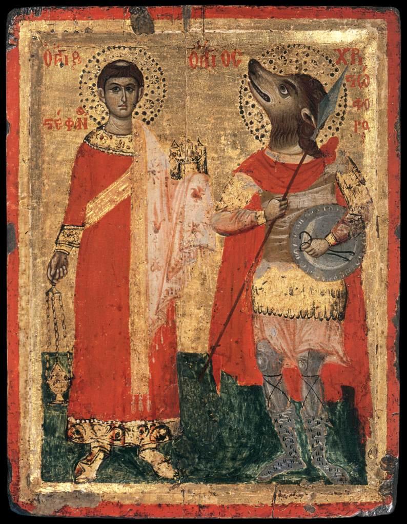 Santo Estevão e São Cristóvão. Séc. XVIII.