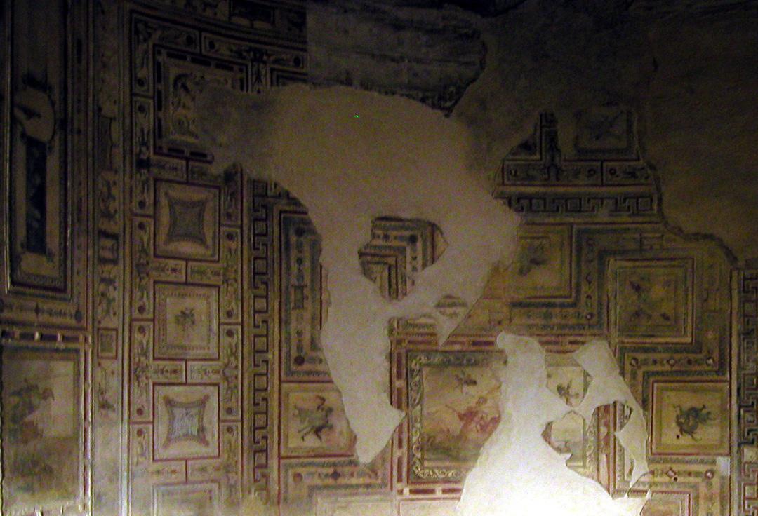 f26 domus aurea f29 domus aurea sala restaurada f40 domus