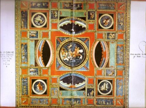 Francisco de Holanda. Teto da Sala Dourada da Domus Aurea. 1537-1540