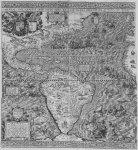 Diego Gutiérrez, Mapa da América, 1562. Para maior resolução: 1. Clicar no mapa; 2. Clicar em 2000-2176