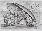 Hieronymus Cock. A partir de Hieronymus Bosch. Concerto numa ostra. 1562
