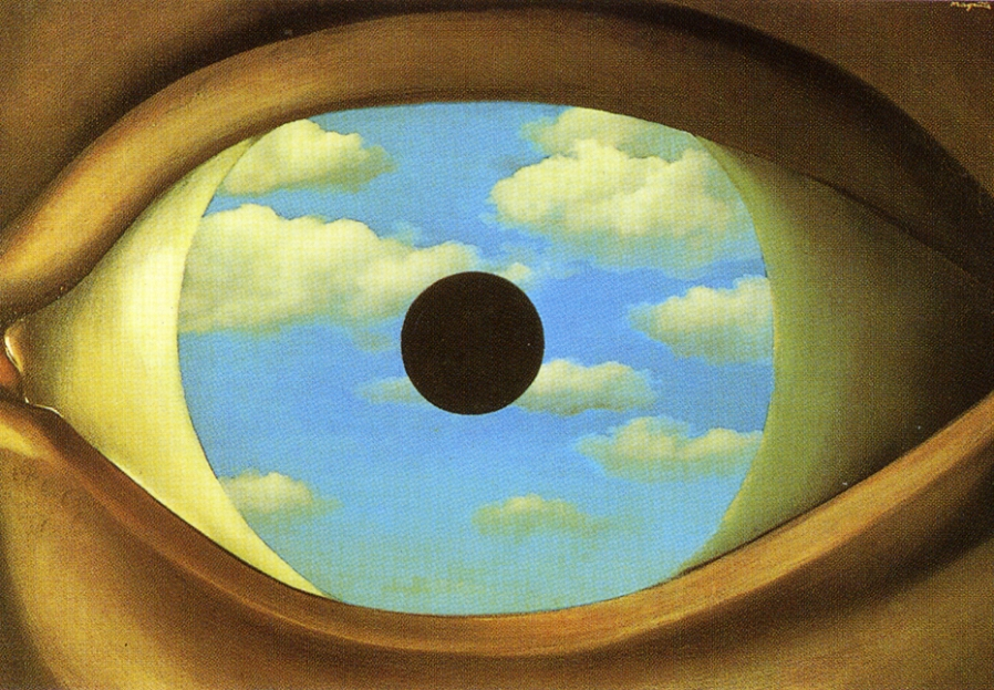 01 ren magritte le faux miroir 1928 tend ncias do for Rene magritte le faux miroir