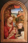 Fig 06. Christus Petrus. Lactação de São Bernardo. 1480