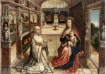 Fig 08. Autor desconhecido.Lactação de São Bernardo. Ghent. Museum voor Schone. Kunsten. 1525-1540