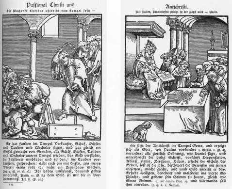 Fig 14. Lucas Chranac. Paixões de Cristo e do Anticristo. 1521