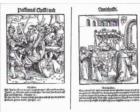 Fig 15. Lucas Chranac. Paixões de Cristo e do Anticristo. 1521