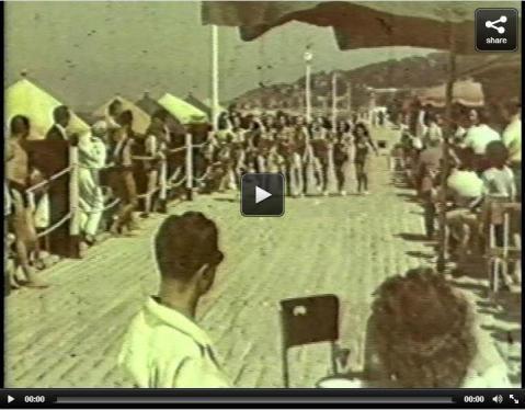 Ambre Solaire. Bonnes Vacances. França, 1947.