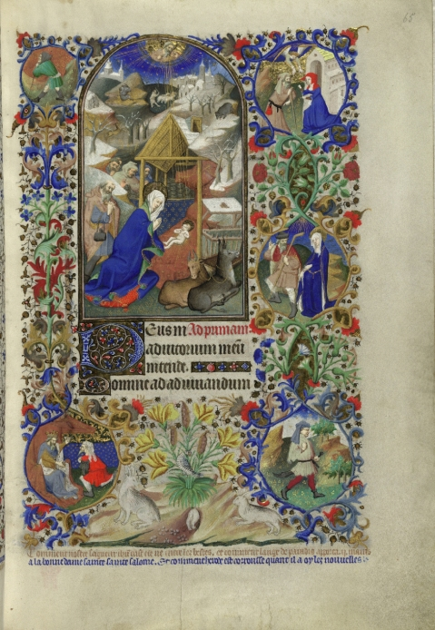 Bedford Hours. 1430. London, British Library.