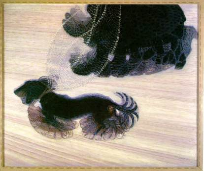 14. Giacomo Balla. Dynamism of a Dog on a Leash. 1912