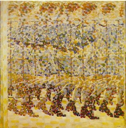 15. Giacomo Balla. Ragazza che corre sul balcone. 1912