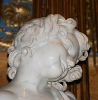 Bernini. O êxtase de Santa Tereza. Pormenor.