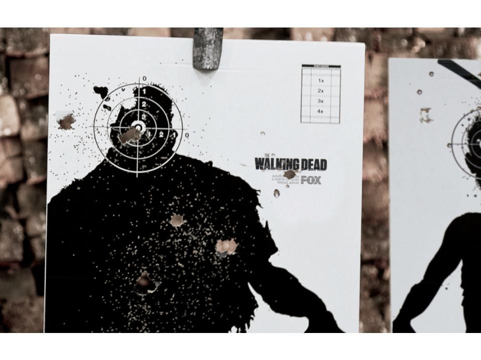 Fox Channels. Posters feitos à bala