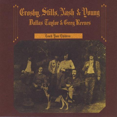Crosby, Stills, Nash & Young. Helpless. Déjà Vu. 1970.