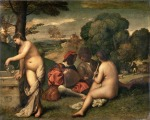 07. Titian and Giorgione. The Pastoral Concert. c. 1508.