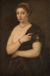 31. Titian. Woman in a Fur Coat. 1535