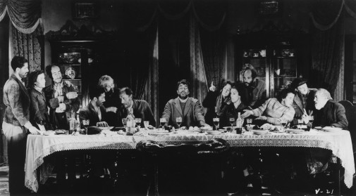 The notorious Last Supper sequence in Luis Buñuel's VIRIDIANA.