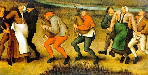 Pieter Brueghel the Younger, The Saint John's Dancers in Molenbeeck 1592