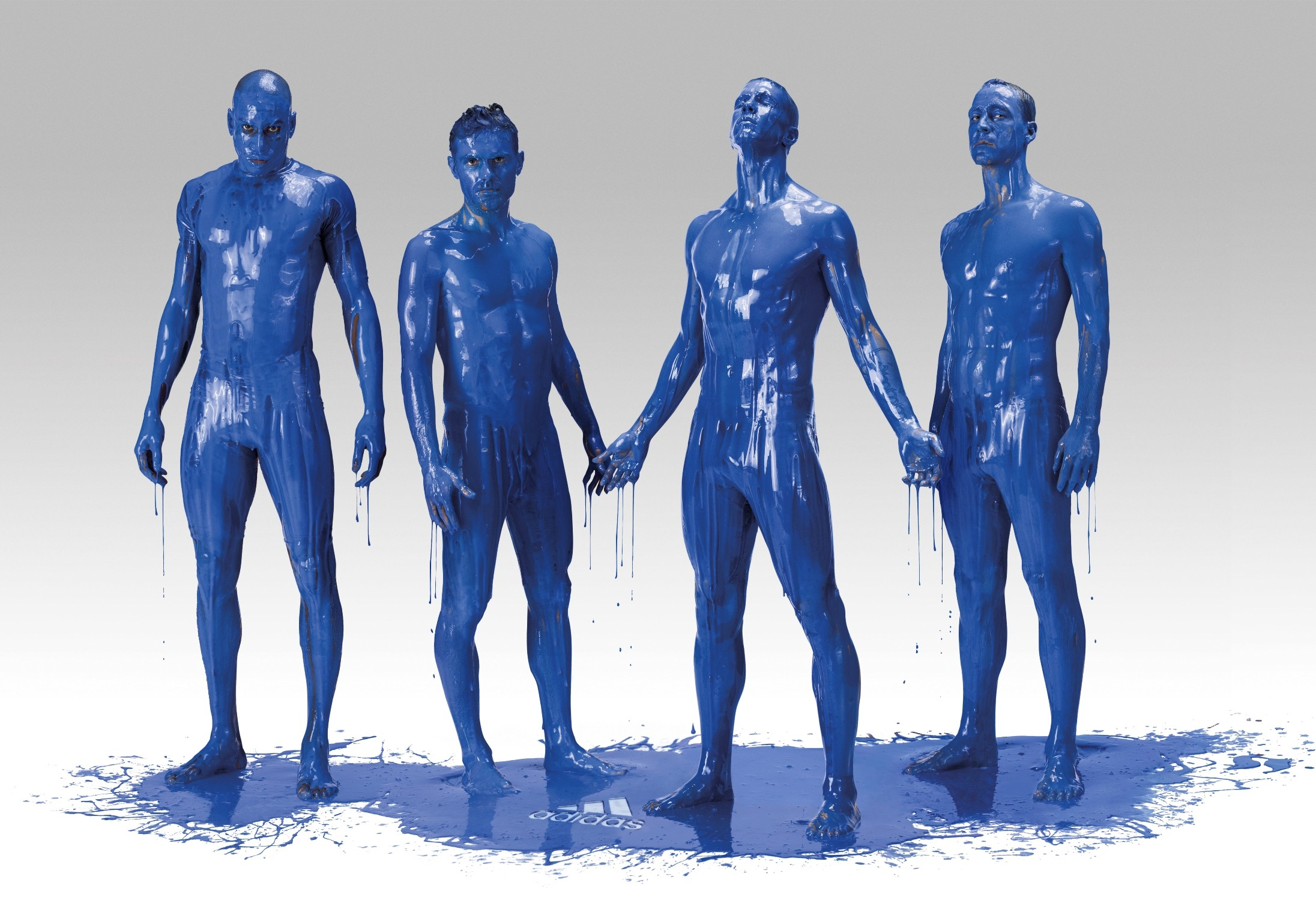 Adidas. It's Blue, What else matters