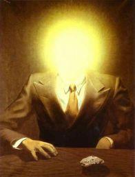 René Magritte. The Pleasure Principle, Portrait of Edward James. 1937.