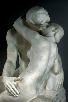 Auguste Rodin. Le Baiser. Pormenor. 1888-1889