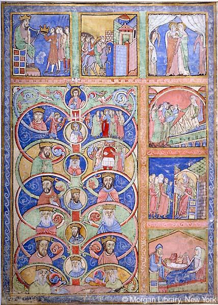 Figura 4. Livro de Salmos de Canterbury, Inglaterra, 1155-1160