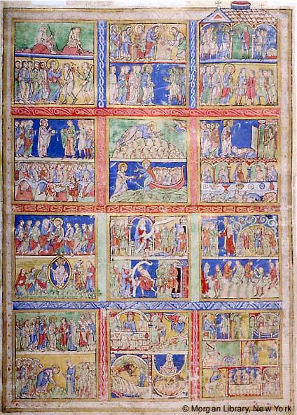 Figura 6. Livro de Salmos de Canterbury, Inglaterra, 1155-1160