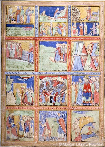 Figura 5. Livro de Salmos de Canterbury, Inglaterra, 1155-1160