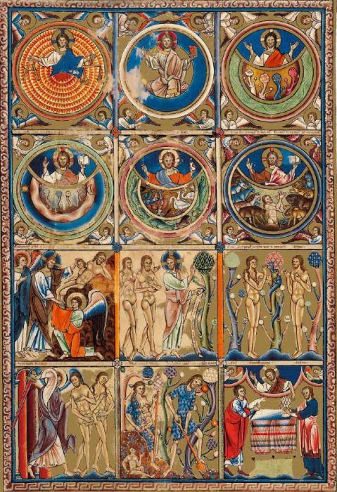 Livro de Salmos de Canterbury, Inglaterra, 1155-1160