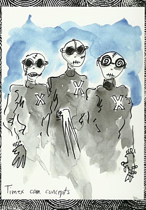 Tim Burton. Timex com.concepts. 2000