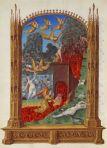 Purificação das almas no Purgatório. Très Riches Heures, c. 1412.