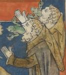 Falsos Profetas. 'Queen Mary Apocalypse', Londres, séc- XIV.