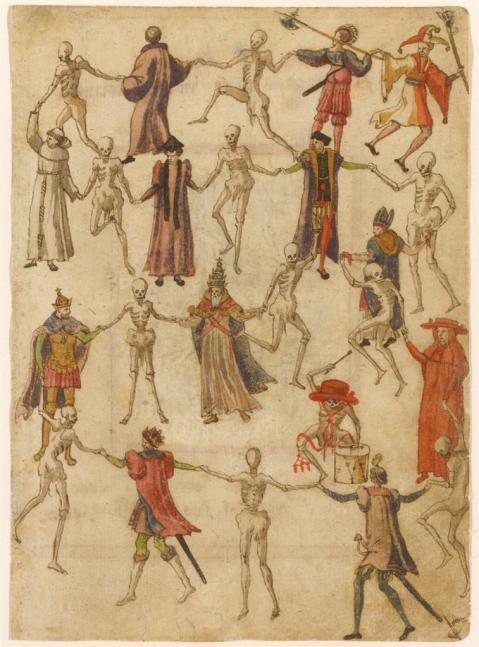 Dança da Morte. Alemanha. Séc. XVI