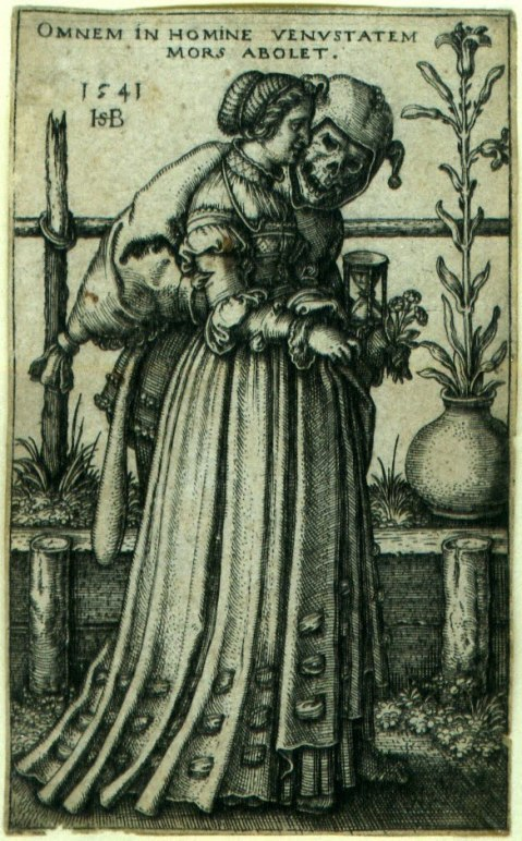 Figura 5. Hans Sebald Beham. The Lady and Death. 1541