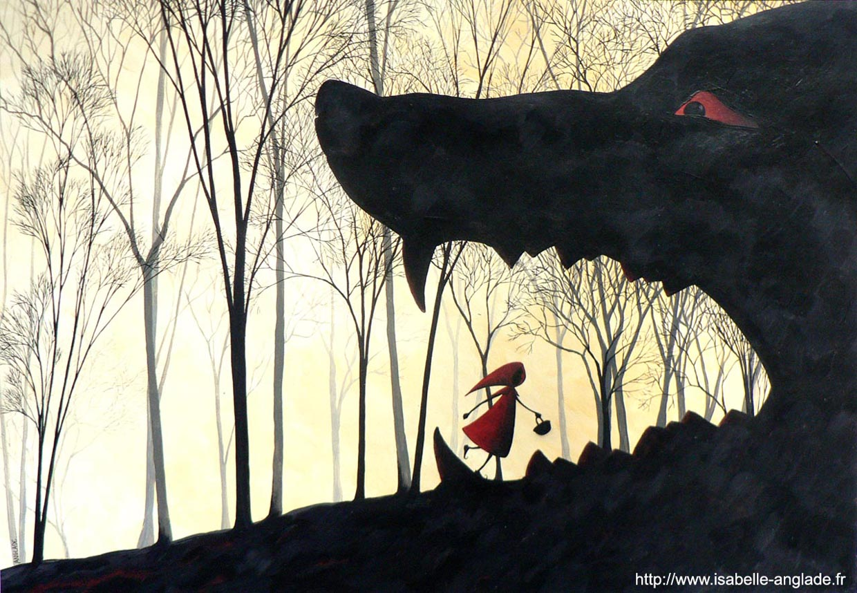 Isabelle Anglade. Le Petit Chaperon Rouge.