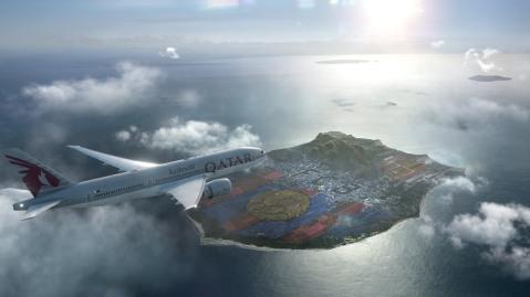 Qatar Airways. Barcelona