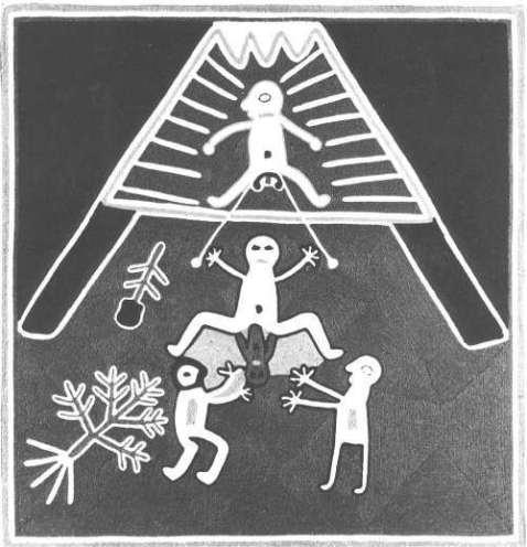 Figura 1. Nascimento Huichol