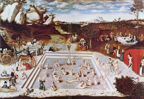 Lucas Cranach The Elder. A Fonte da Juventude. 1546.