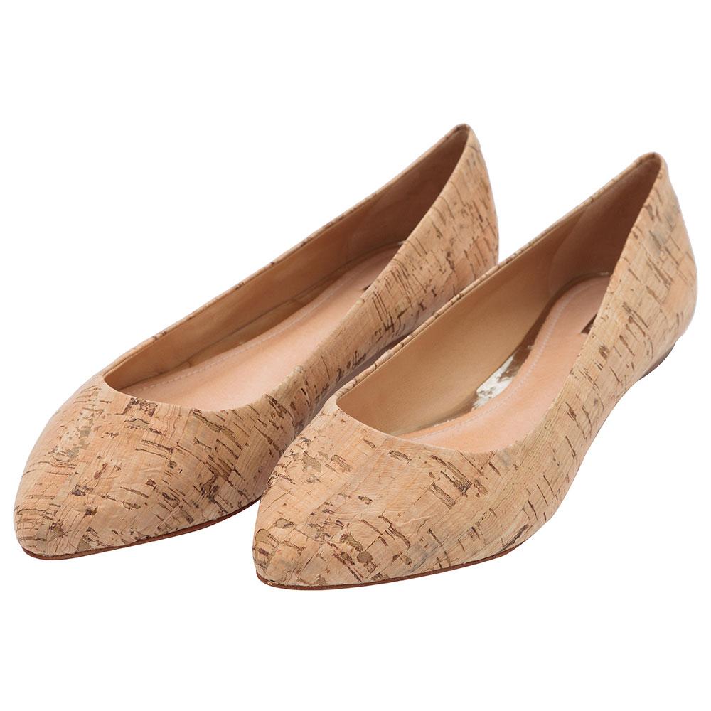 Sapatos de cortiça