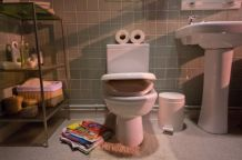 WaterAid. Thank you toilet.