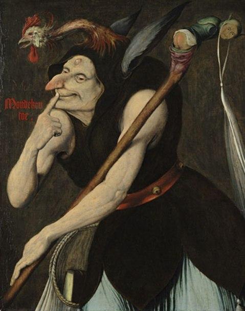 Quentin Massys. An Allegory of Folly. Início do séc. XVI.