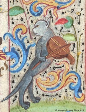 01 From a French Book of Hours, c. 1470.