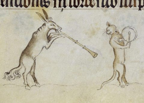 05. 'Queen Mary Psalter', London 1310-1320 (British Library, Royal 2 B VII, fol. 194r)