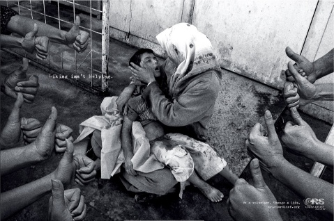 CRS Crisis Relief Singapore. Liking isn't helping. Publicis. Singapura, Junho 2013.