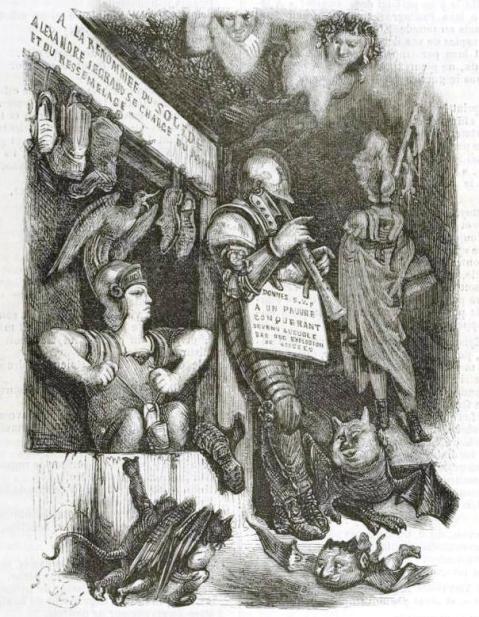 Gustave Doré. Ilustração do Pantagruel, de François Rabelais
