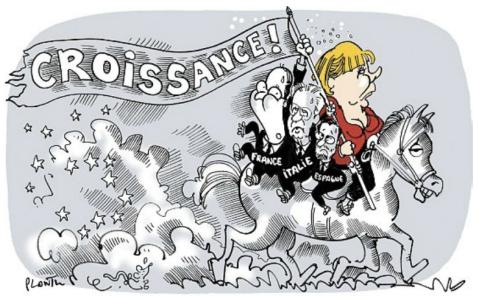 Plantu. Croissance