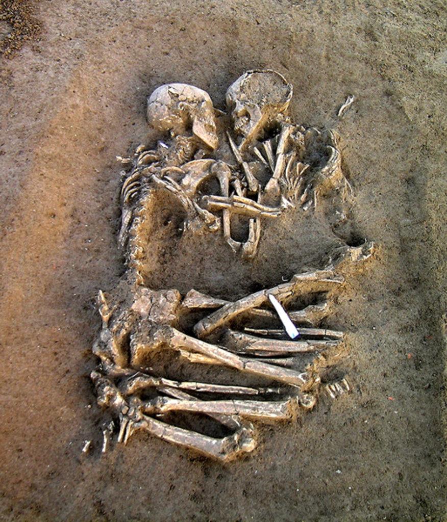 Amantes de Valdaro. Neolítico. Mântua, Itália.