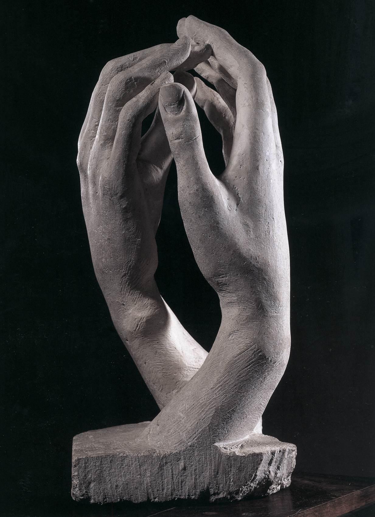 Auguste Rodin. La Cathédrale. 1909.