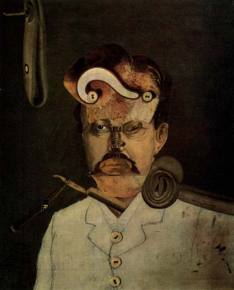 Figura 2. George Grosz. Remember Uncle August, the Unhappy Inventor'. 1919.