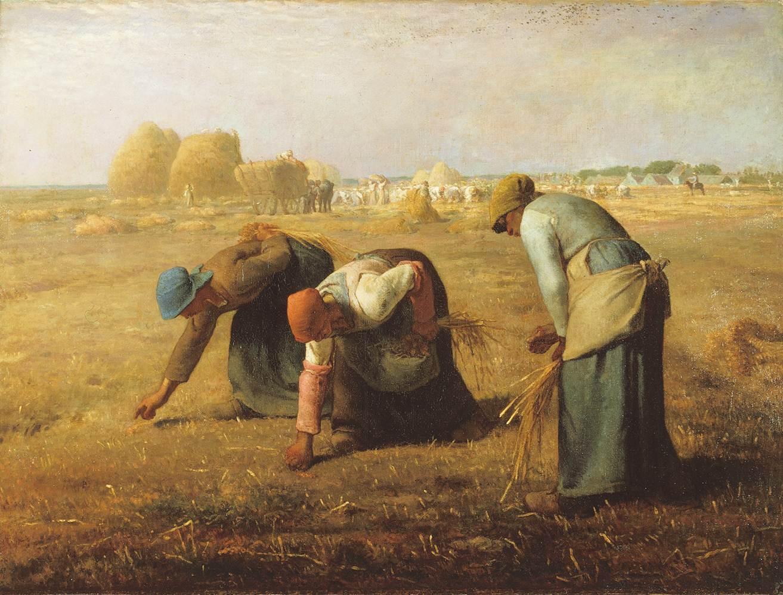 Jean-François Millet. As Respigadoras. 1857.