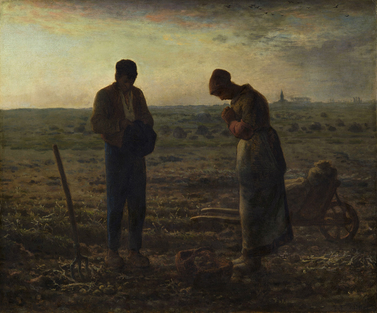 Jean-François Millet. The Angelus, 1857-1859.